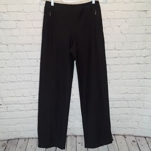Lucy straight leg ankle zip athletic pants size S